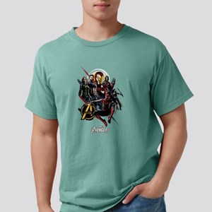 Avengers Infinity War Fi Mens Comfort Colors Shirt