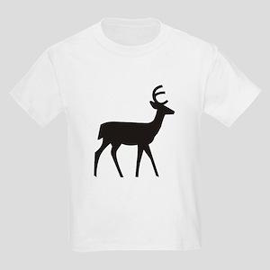 Deer Silhouette Kids Light T-Shirt