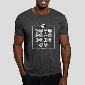 Avengers Infinity War Icons Dark T-Shirt
