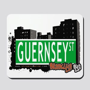 GUERNSEY ST, BROOKLYN, NYC Mousepad
