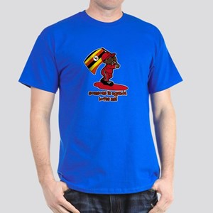 Someone in Uganda loves me! Dark T-Shirt