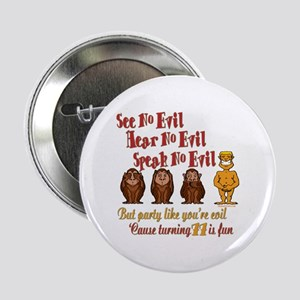 """Party 77th 2.25"""" Button"""