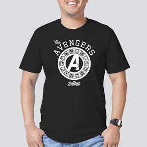Avengers Infinity War Men's Fitted T-Shirt (dark)