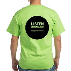The Knitting Mafia: Listen T-Shirt