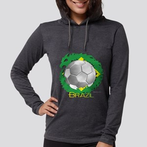 Brazil Soccer Dragon Long Sleeve T-Shirt