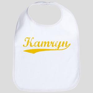 Vintage Kamryn (Orange) Bib