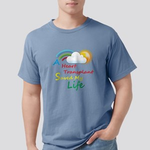 Heart Transplant Rainbow Cloud T-Shirt
