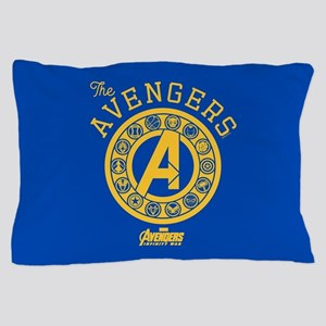 Avengers Infinity War Circle Pillow Case