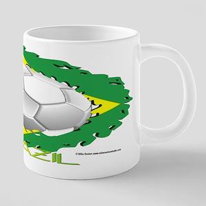 Brazil Soccer Dragon Mugs