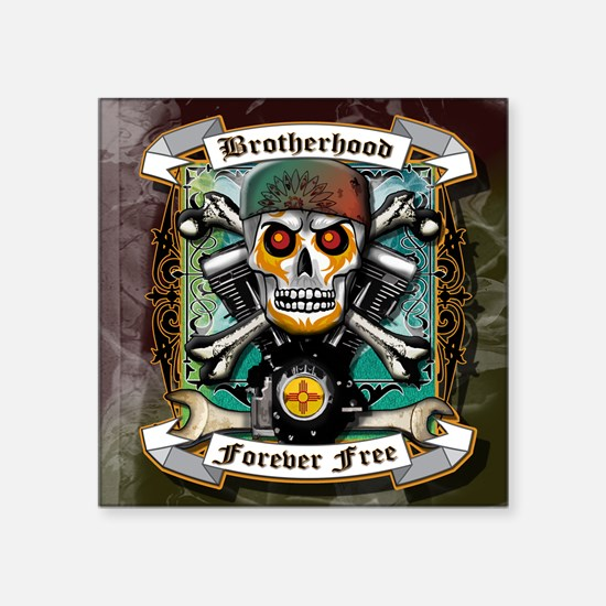 BROTHERHOOD FOREVER FREE Sticker