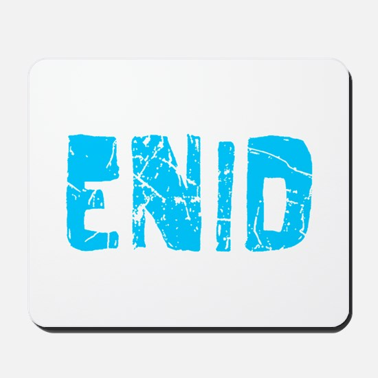 Enid Faded (Blue) Mousepad