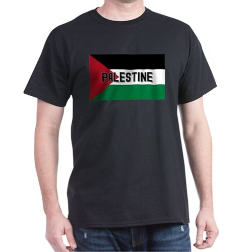Palestinian Flag (labeled) T-Shirt