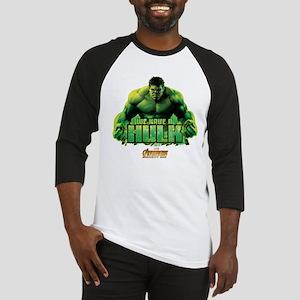 Avengers Infinity War Hulk Baseball Tee