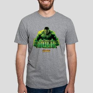 Avengers Infinity War Hulk Mens Tri-blend T-Shirt