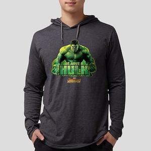 Avengers Infinity War Hulk Mens Hooded Shirt