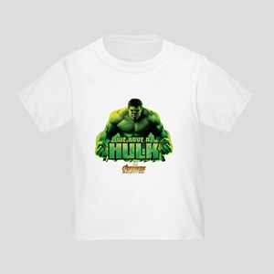 Avengers Infinity War Hulk Toddler T-Shirt