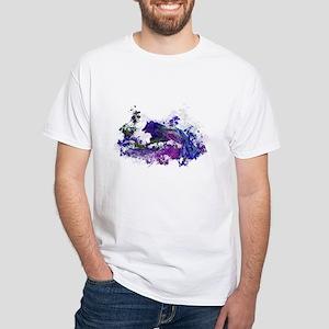 Design 44 dog silhouette T-Shirt