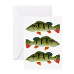 Speckled Pavon Greeting Cards