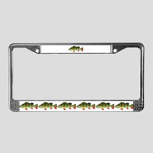 Speckled Pavon License Plate Frame