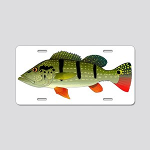 Speckled Pavon Aluminum License Plate