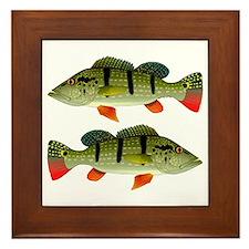 Speckled Pavon Framed Tile