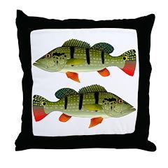Speckled Pavon Throw Pillow