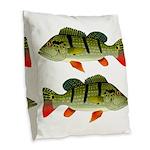 Speckled Pavon Burlap Throw Pillow
