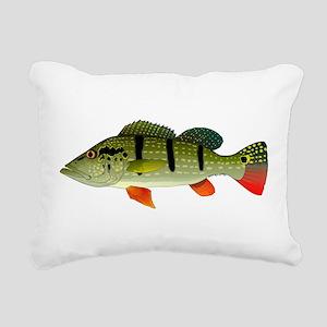 Speckled Pavon Rectangular Canvas Pillow
