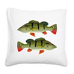 Speckled Pavon Square Canvas Pillow