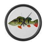 Speckled Pavon Large Wall Clock