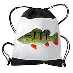 Speckled Pavon Drawstring Bag