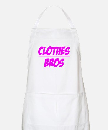 """""""Clothes Over Bros (Pink)"""" BBQ Apron"""