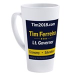 Tim 2018 - Picture 17 oz Latte Mug