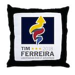 Tim 2018 - Timnado Portrait Throw Pillow