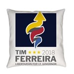 Tim 2018 - Timnado Portrait Everyday Pillow