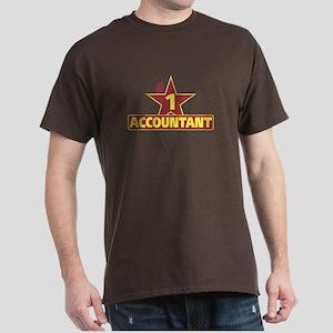 #1 ACCOUNTANT Dark T-Shirt