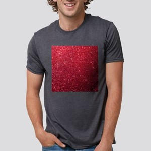 Girly Chic Red Glitter T-Shirt