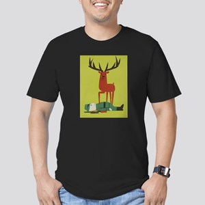 Vintage Anti Hunting Travel Poster T-Shirt