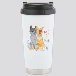 Red Or Blue Mugs