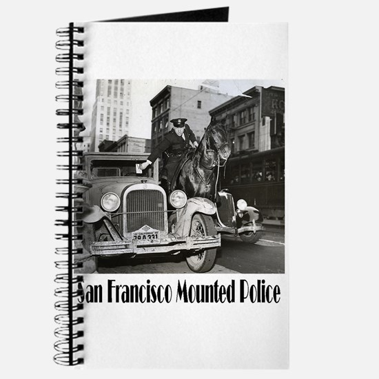 SFPD Mounted Police Journal
