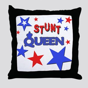 Stunt Queen Throw Pillow