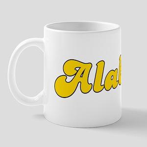 Retro Alabama (Gold) Mug