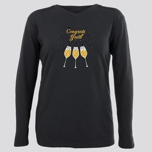 congrats grad champagne T-Shirt