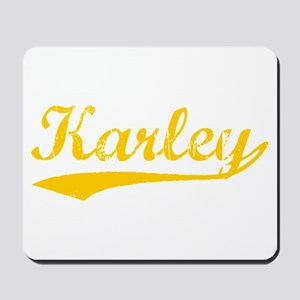 Vintage Karley (Orange) Mousepad