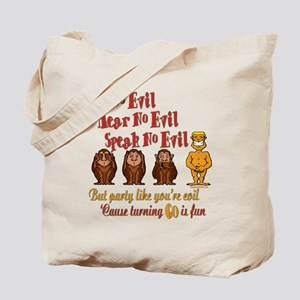 Party 60th Tote Bag