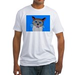 Cat Fitted T-Shirt