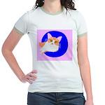 Cat Jr. Ringer T-Shirt