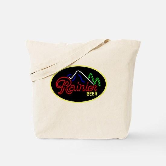 Cute Rainier beer Tote Bag