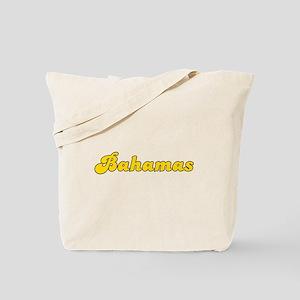 Retro Bahamas (Gold) Tote Bag