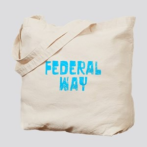 Federal Way Faded (Blue) Tote Bag